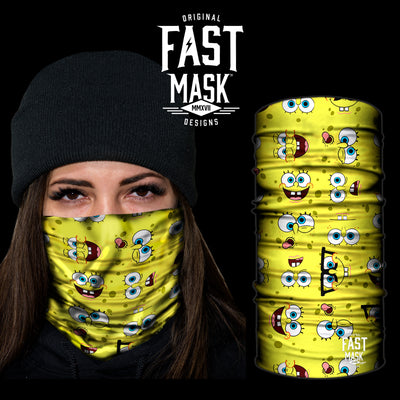 Spongebob fleece Face Mask - Fast Mask