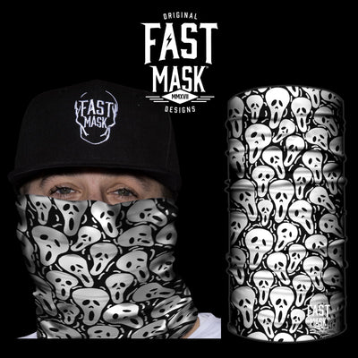 Spooky Mania Face Mask - Fast Mask