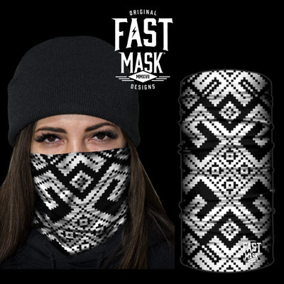 The Maze Face Mask - *Now with Sewn Edges* - Fast Mask