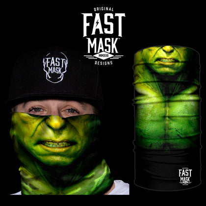 Hulk Green Rage  Face Mask - Fast Mask
