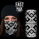 The Maze Fleece Face Mask