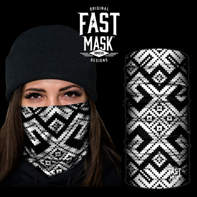 The Maze Fleece Face Mask - Fast Mask