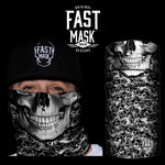 The Skull Fleece Face Mask - Fast Mask