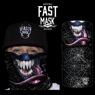 Venom Face Mask - *Now - with Sewn Edges* - Fast Mask