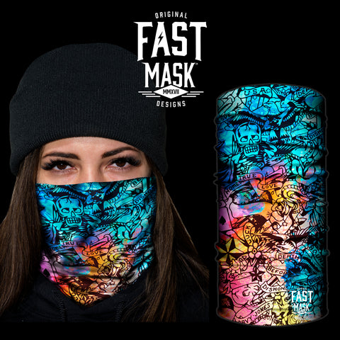 Wild Night Fleece Face Mask - Fast Mask