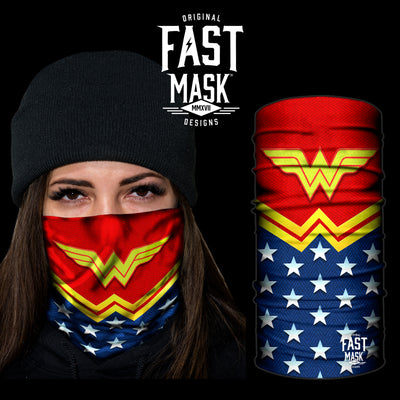 Wonderful Woman Fast Mask * Now With Sewn Edges* - Fast Mask