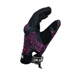 BLACK & PINK PAISLEY FAST MASK MOTORCYCLE GLOVES - Fast Mask