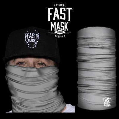 Grey Fleece Face Mask - Fast Mask