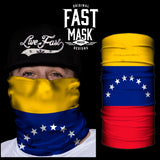 Venezuela Flag Fast Mask - *Now with Sewn Edges* - Fast Mask