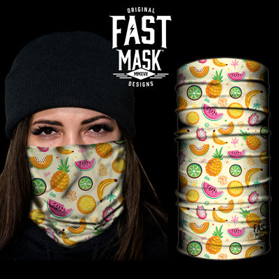 Tutti Fruiti Fast Mask- *Now with Sewn Edges* - Fast Mask