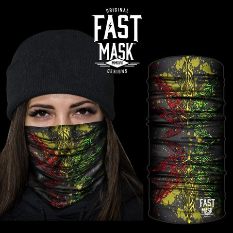 420 Creativity  Fleece Face Mask - Fast Mask