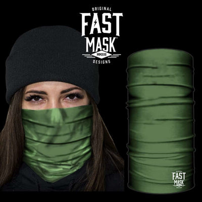 Green Fleece Face mask - Fast Mask