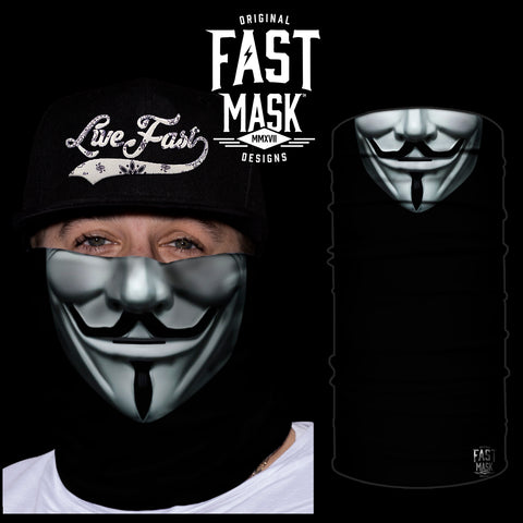 Anonymous Face Mask - *Now with Sewn Edges* - Fast Mask