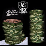 Classic Camo Fleece Face Mask - Fast Mask