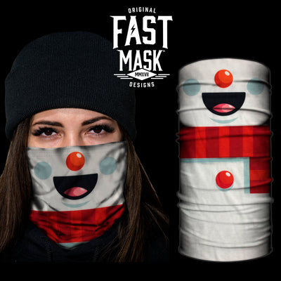 Snowman Fast Mask - *Now with Sewn Edges* - Fast Mask