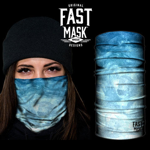 Sky Fast Mask Face mask - *Now - with Sewn Edges* - Fast Mask