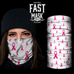 Breast Cancer Support Fast Mask - White - Fast Mask