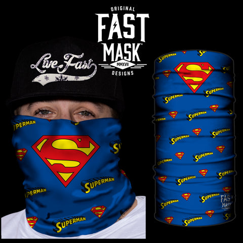 Classic Superman - Now With Sewn Edges - Fast Mask