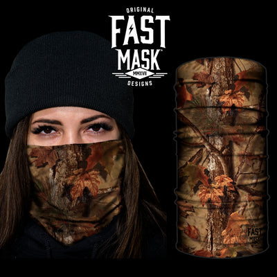 Tree Camo Fast Mask- *Now with Sewn Edges* - Fast Mask