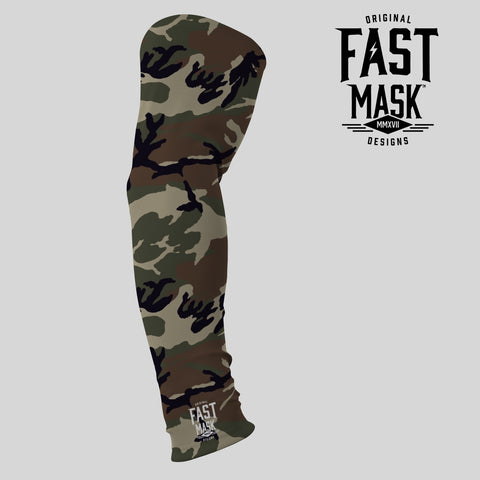 Woodland Arm Sleeve - Fast Mask