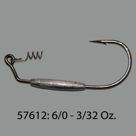 Screw Lock Swim Bait Hooks