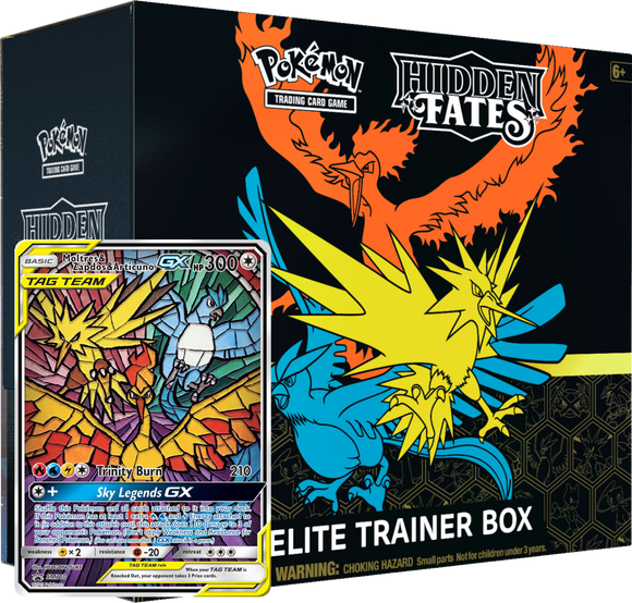 Hidden Fates Elite Trainer Box Code