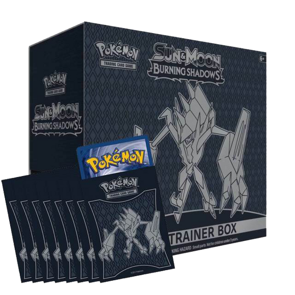 Burning Shadows Elite Trainer Box Code