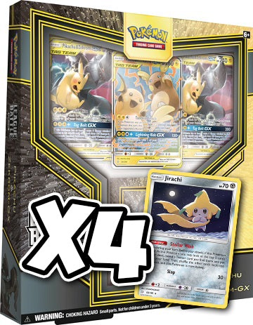 Pikachu & Zekrom-GX League Battle Deck Code (4x Jirachi & more)