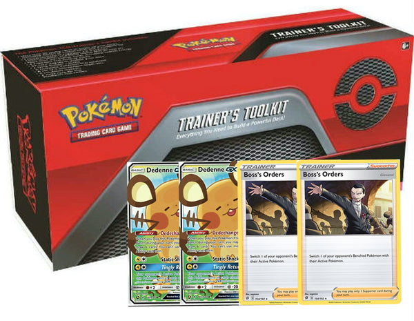 Trainer's Toolkit Code (2x Dedenne GX and more)