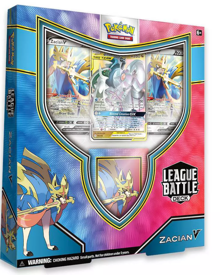 Zacian V League Battle Deck Code