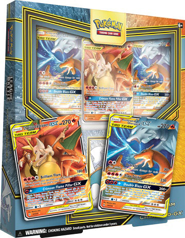 Reshiram & Charizard-GX League Battle Deck Code