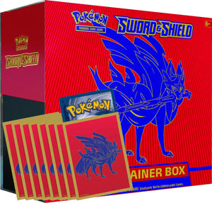 Zacian Elite Trainer Box Code