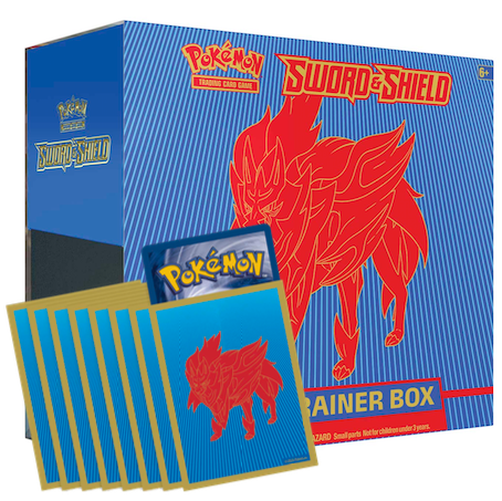 Zamazenta Elite Trainer Box Code