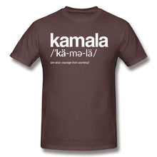 Load image into Gallery viewer, 2020 Pronunciation Definition Relaxed Print Cotton Kamala Harris As Vice President