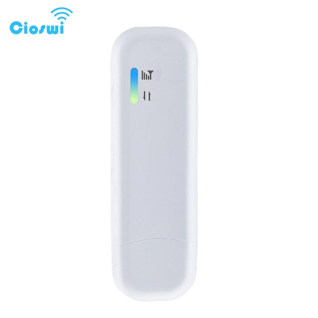 Cioswi 4G LTE USB Modem WiFi Dongle Network Adapter With Wi-Fi Hotspot SIM Card 150Mbps Universal 3G 4G Wireless Router For Car