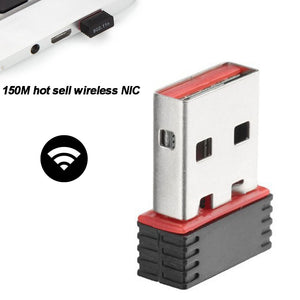 Wireless Dongle Network Card For PC USB LAN 150Mbps Wifi Adapter Receiver #5