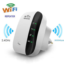 Load image into Gallery viewer, 300Mbps Wireless WiFi Repeater WI FI Extender Wi-Fi Amplifier 802.11N/B/G Router Booster Repetidor Wi fi Reapeter Access Point