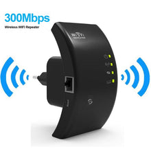 Load image into Gallery viewer, Wifi Router Repeater 802.11N/B/G Computer Networking Range Expander Wireless 300M Roteador Signal Boosters EU US UK AU Plug