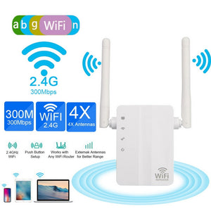 300Mbps Wireless WIFI Router WiFi  Wi Fi Amplifier Long Range Home Network 802.11b/g/n Wi Fi Signal Repeater