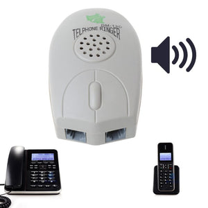 1PC Networking Tools Amplifier Landline Phone Bell Ringer Extra Loud Telephone Ring For The Old Elder O28 19 Dropship