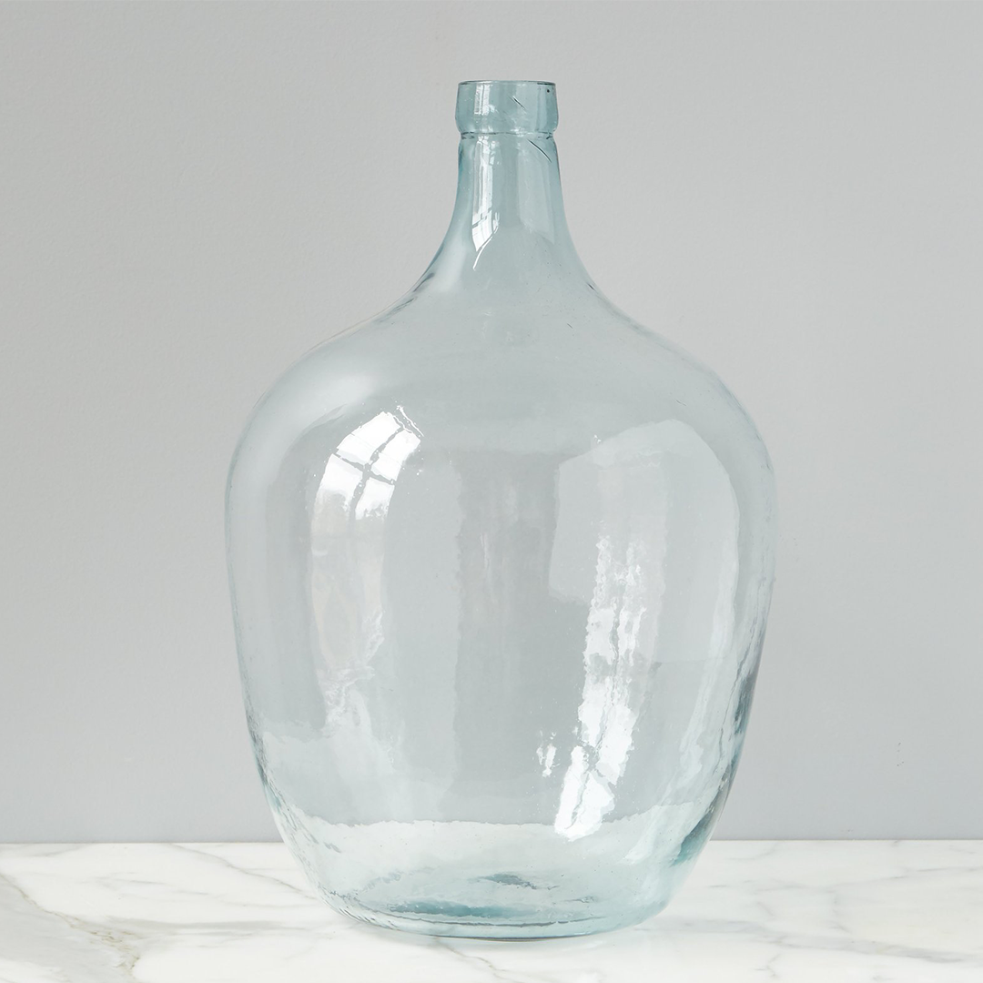 30L Recycled French Demijohn Bottle - 22""
