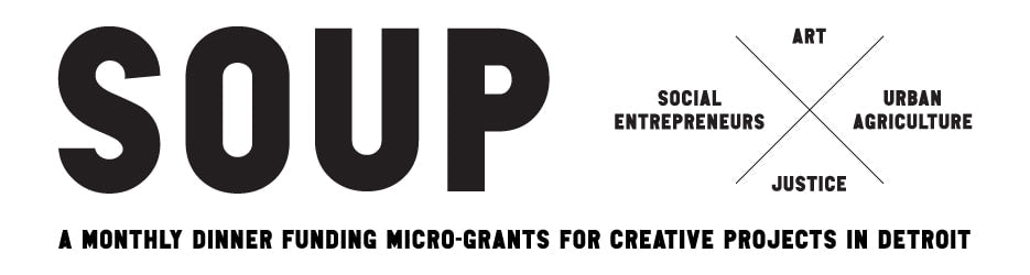 Detroit Soup: a microfunding grant to support neighborhood projects