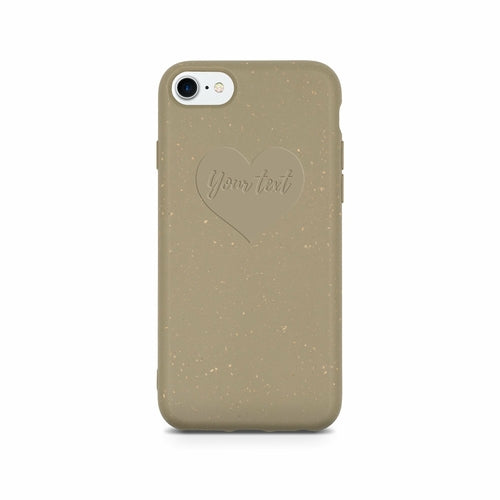 Biodegradable Personalized Phone Case - Olive Green