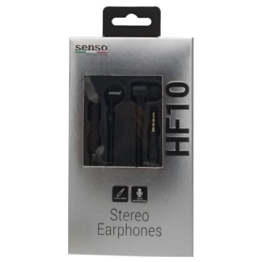 Handsfree Senso HF10 3.5mm Black