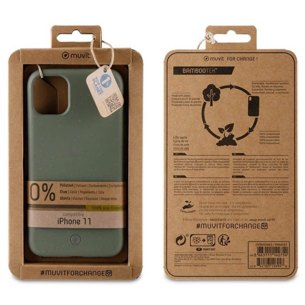 Bambootek iPhone 11 Pro Max Green