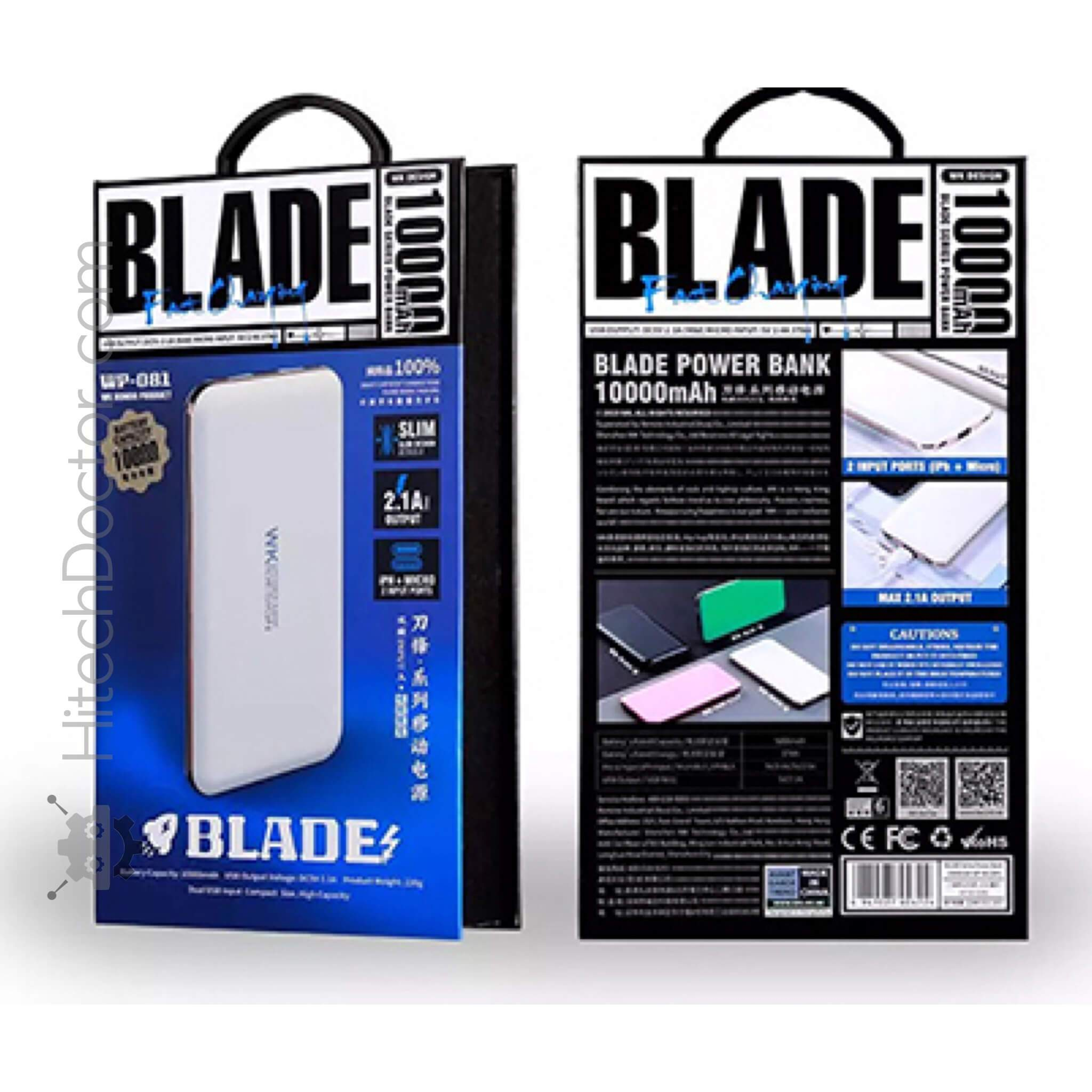 BLADE wk 10000mAh WP-081 Rose