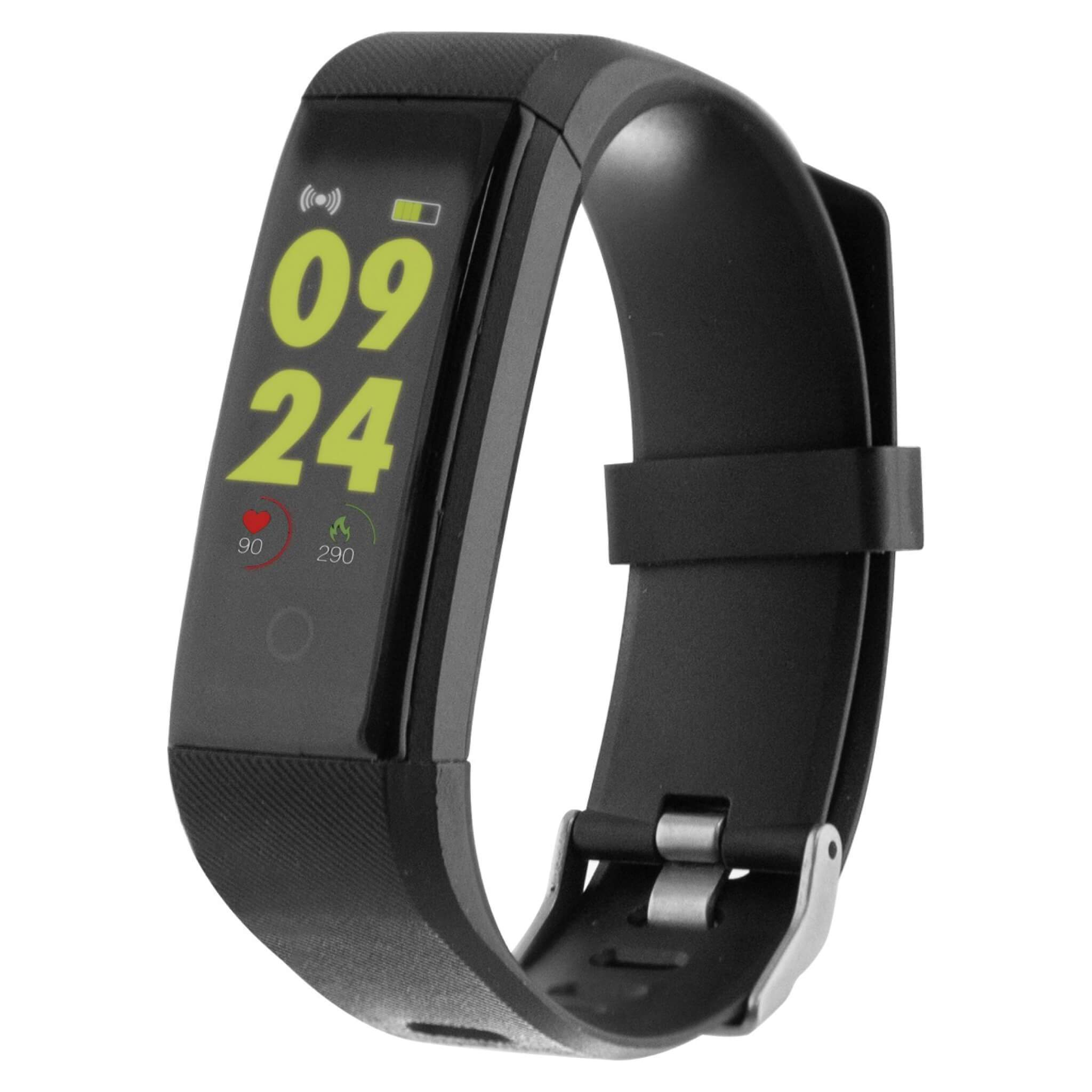 Contact Fitness Band HR Μαύρο
