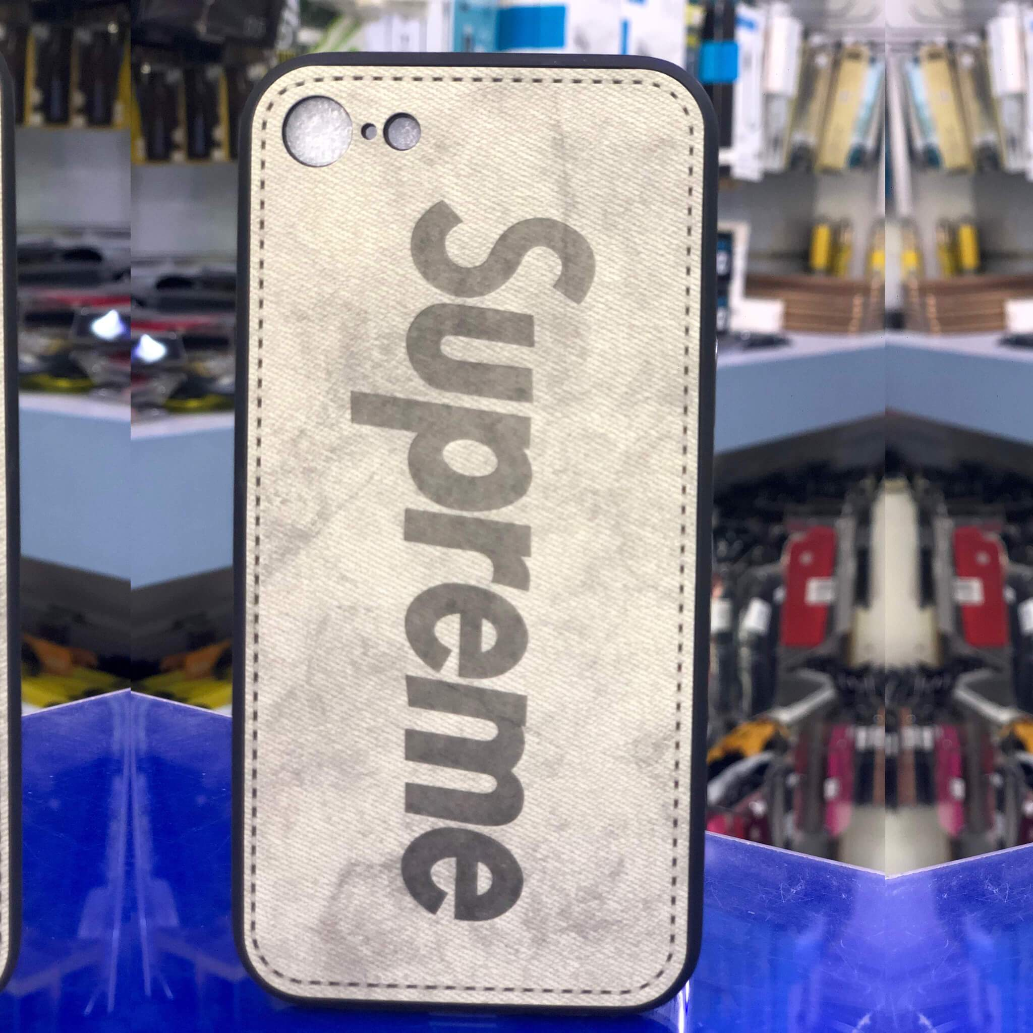 Supreme Case iPhone 8-7 White - HitechDoctor.com
