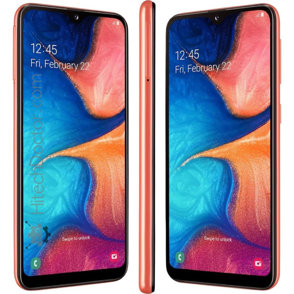 Samsung Galaxy A20e Dual (32GB) Coral Orange