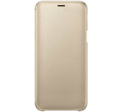 Samsung J6 Wallet Cover Gold - HitechDoctor.com